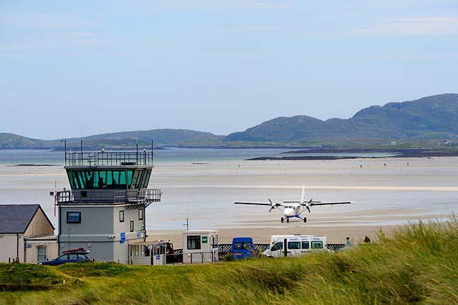 Barra repülőtér, Skócia