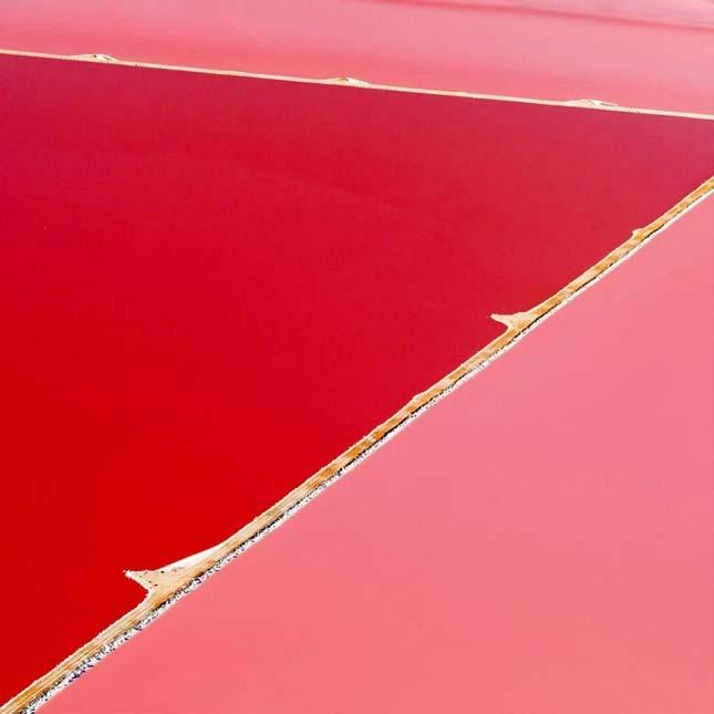 Hutt Lagoon algafarm, Ausztrália