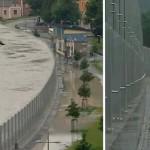 Linzben élesben vizsgázik a szegedi mobilgát