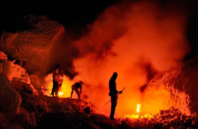Kawah Ijen vulkán