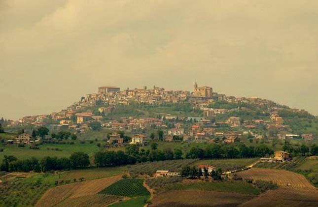 Bucchianico város, Olaszország