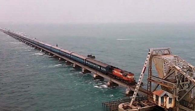 Rameswaram India  City new picture : 10. Chennai Rameswaram Route, India