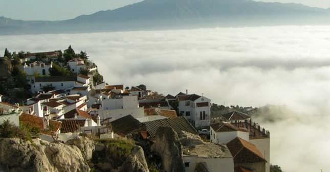 Comares város, Spanyolország