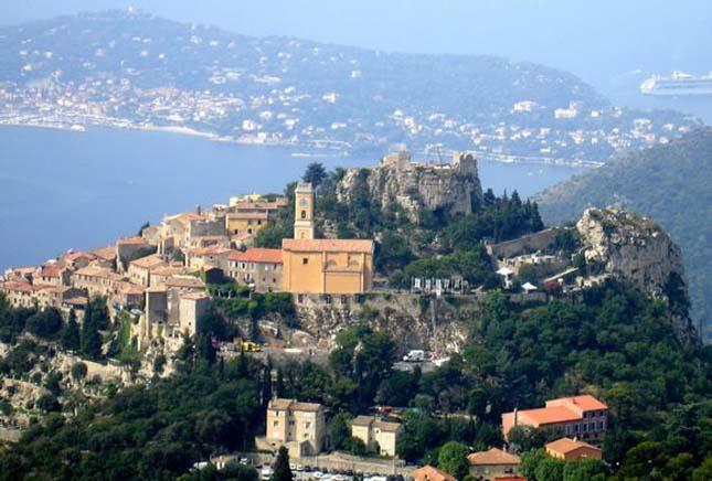 Eze falu, Franciaország