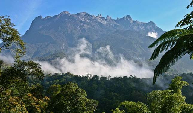 Kinabalu hegy, Malajzia