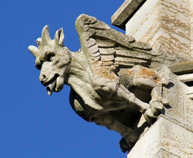 Márvány templom, Bodelwyddan - Clwyd, Wales