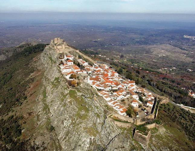 Marvao középkori falu , Portugália