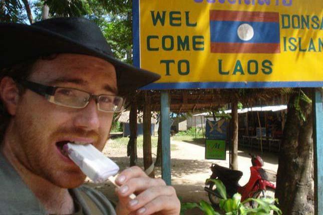 Megérkezés Laosba
