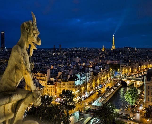 Notre Dame katedrális - Párizs, Franciaország