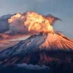 Látványos videó a Popocatépetl vulkán kitöréséről
