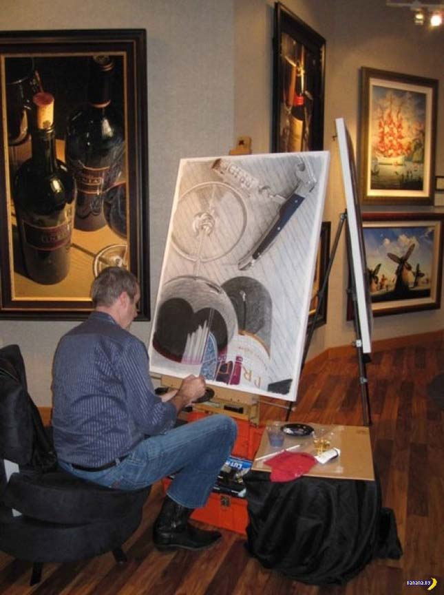Thomas Arvid - Giclée nyomat vásznon