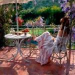 Vicente Romero Redondo romantikus hangulatú festményei