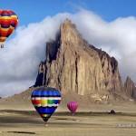 Hajószikla – 30 millió éves vulkáni képződmény Új-Mexikóban