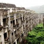 Teljesen elhagyatott Hasima szigete, mely korábban a világ legsűrűbben lakott települése volt