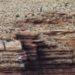 Elképesztő mutatvány a Grand Canyon felett