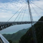 Kilátás a Langkawi Sky hídról