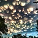 Egy ritka felhőképződmény – a mammatus