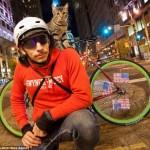 MJ – a biciklis futár cica
