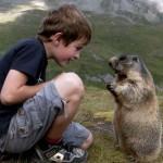 Matteo Walch, a mormoták legjobb barátja