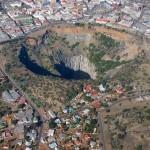 Kimberley Mine – hatalmas gyémántbánya Dél-Afrikában