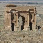 Tímgád – római kori romváros Algériában
