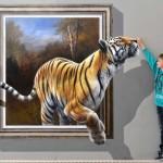 """""""A művészet Te vagy!"""" – háromdimenziós festménykiállítás"""