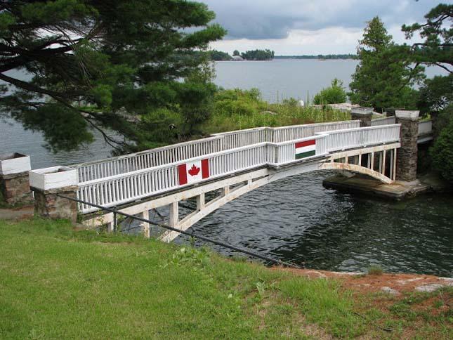 A világ legrövidebb nemzetközi hídja