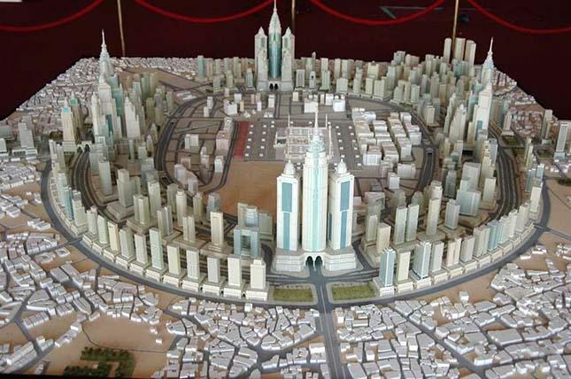 Mekka építészeti látványterve