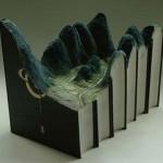 Elképesztő alkotások amiket könyvből faragtak