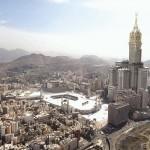 Mekka a XXI. századi monumentális építkezés útjára lépett