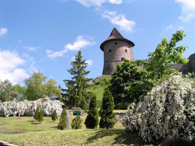 Bazaltorgona Somoskőn és a vár
