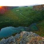 Az izlandi Asbyrgi-kanyon
