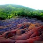 Mauritius hét színű földje