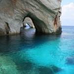 Zakynthos Kék-barlangjai