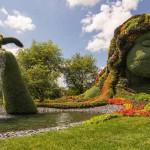 Mosaiculture – a legrangosabb kertművészeti fesztivál alkotásai