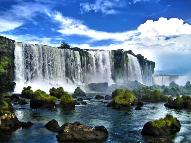 Iguazu, Argentína és Brazília