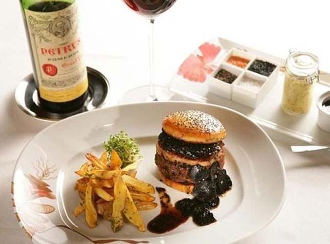 A világ legdrágább hamburgere