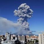 Kitört a Szakuradzsima vulkán Japán délnyugati részén