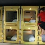 Kapszulahotel nyílt Kínában