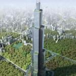 Megkezdődött a világ legmagasabb felhőkarcolójának építése Kínában