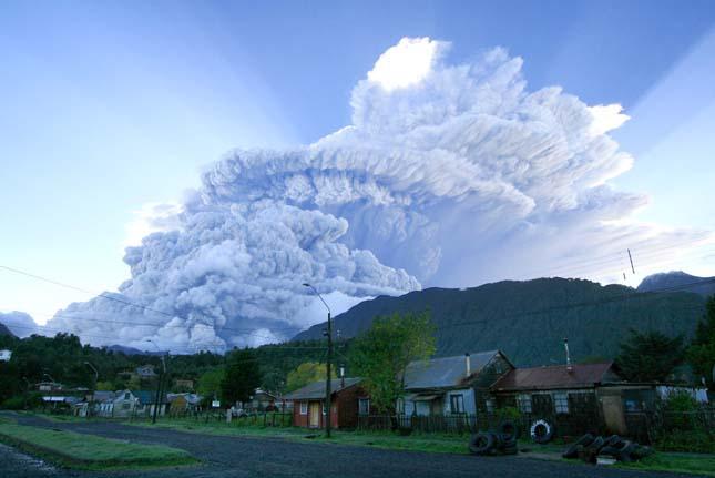 Chaiten Vulkán