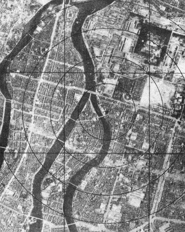 Hirosima az atombomba ledobása előtt