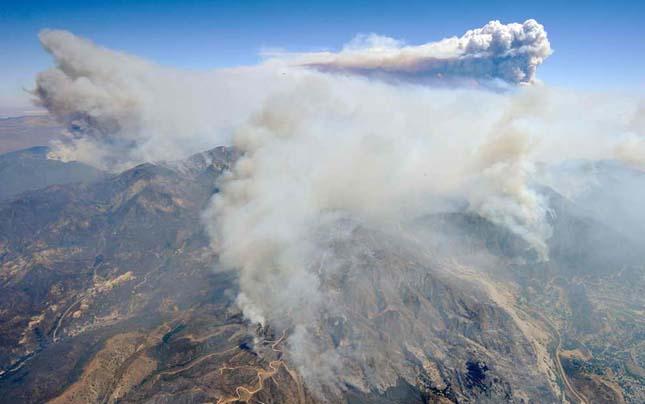 Erdőtűz - Kalifornia