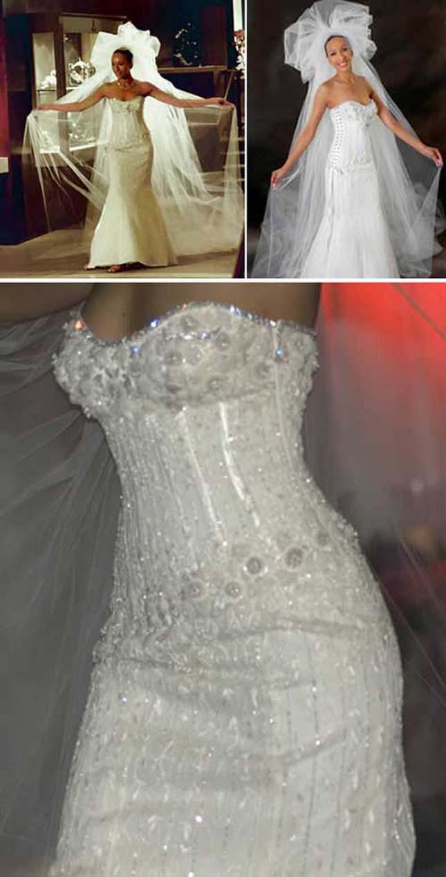 A világ legdrágább esküvői ruhája