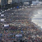 3 millió ember a Copacabanán