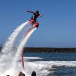 Flyboard – új extrém vízi sport