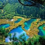 A varázslatos Jiuzhaigou-völgy