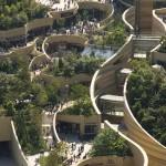 Namba Park – zöldellő épületkomplexum az oszakai betondzsungelben