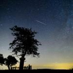 A Perseidák meteorraj egy látványos videón