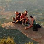 Kilátás a Burgonyaszirom szikláról